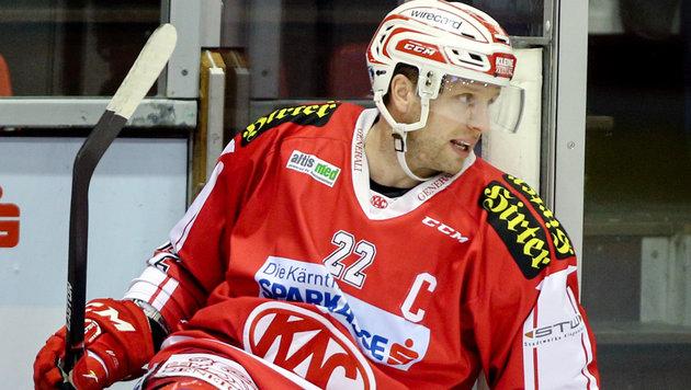 KAC verlängert nicht mit Kapitän Thomas Pöck (Bild: GEPA)