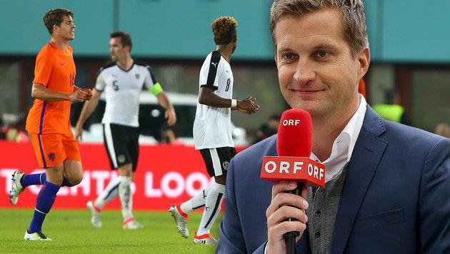 ORF-Kommentator Polzer erntet üblen Shitstorm (Bild: GEPA)