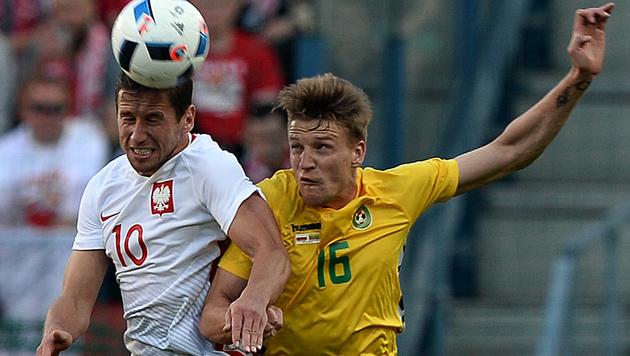 Polen ohne Lewandowski nur 0:0 gegen Litauen (Bild: AFP)