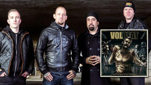"""Volbeat: """"Der Rock""""n""""Roll braucht seine Helden!"""" (Bild: Universal Music)"""