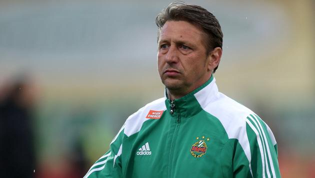Zoran Barisic nicht mehr Rapid-Trainer (Bild: GEPA)