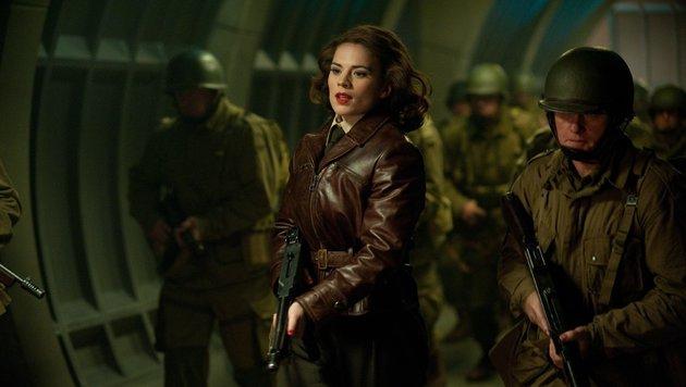 """Carter in """"Captain America: The First Avenger"""" (Bild: Marvel.com)"""