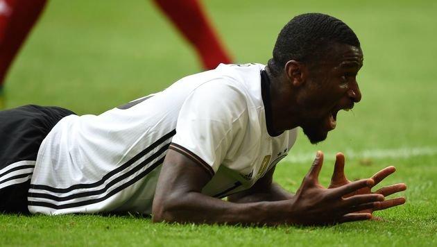 Kreuzbandriss! EM für DFB-Kicker Rüdiger vorbei (Bild: AFP)