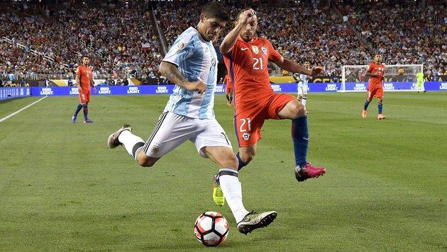 Argentinien siegt auch ohne Messi bei Copa America (Bild: 2016 Getty Images)