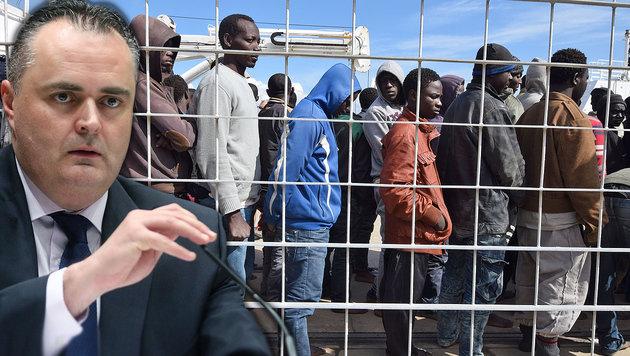 Doskozil für Asylzentren in Nordafrika (Bild: APA, AFP)