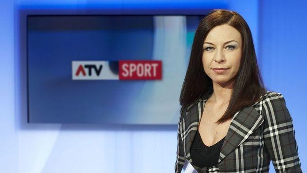 Elisabeth Auer soll künftig innerhalb der Nachrichtenredaktion den Sportbereich betreuen. (Bild: ATV)