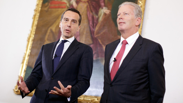 Österreichs Regierung gibt grünes Licht für CETA (Bild: APA/GEORG HOCHMUTH)