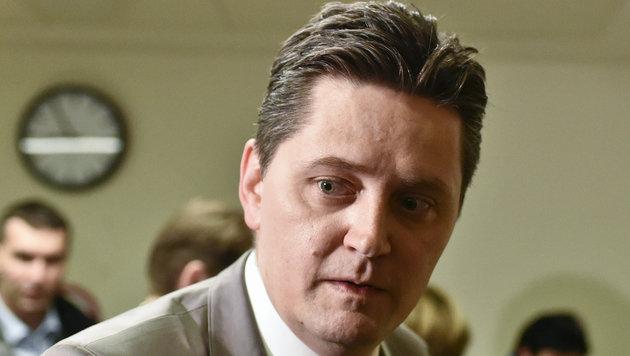Der ÖVP-Nationalratsabgeordnete Schönegger fasste eine bedingte Haftstrafe von neun Monaten aus. (Bild: APA/HERBERT NEUBAUER)