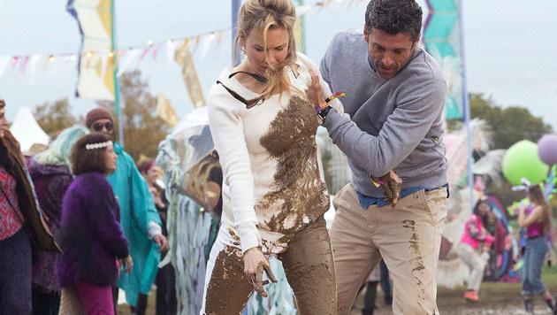 Renee Zellweger und Patrick Dempsey in 'Bridget Jones's Baby' (Bild: Viennareport)