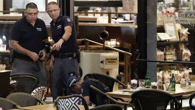 Tel Aviv: Vier Tote bei Terroranschlag in Park (Bild: AFP)