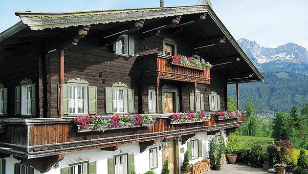 "Das ist die berühmteste ""Arztpraxis"" in Tirol, hier ordiniert der Bergdoktor. (Bild: Diana Krulei)"