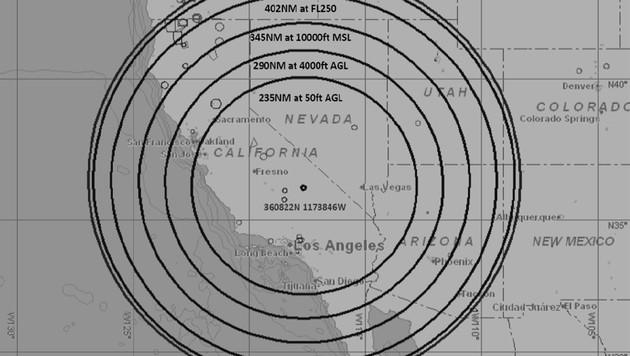 Die GPS-Ausfälle sind auch in den Nachbarstaaten Kaliforniens spürbar. (Bild: faasafety.gov)