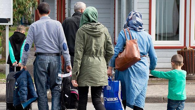 D: Syrer könnten 500.000 Angehörige nachholen (Bild: APA/AFP/dpa/SWEN PFOERTNER)