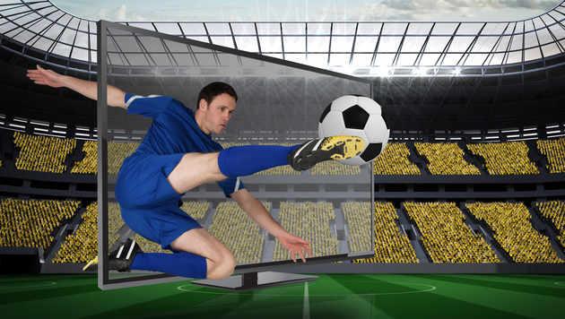 Fußball-EM lässt TV-Verkäufe in die Höhe schießen (Bild: thinkstockphotos.de)