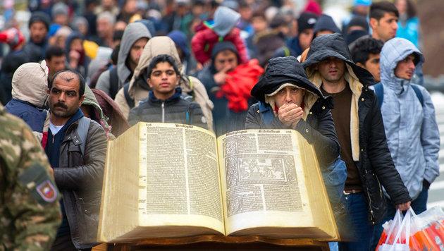 GB: Christliche Asylwerber müssen bibelfest sein (Bild: EPA/CHRISTIAN BRUNA, CHRISTIAN JAUSCHOWETZ)