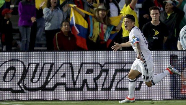 Kolumbien bei Copa America erster Viertelfinalist (Bild: APA/AFP/GETTY IMAGES/Sean M. Haffey)
