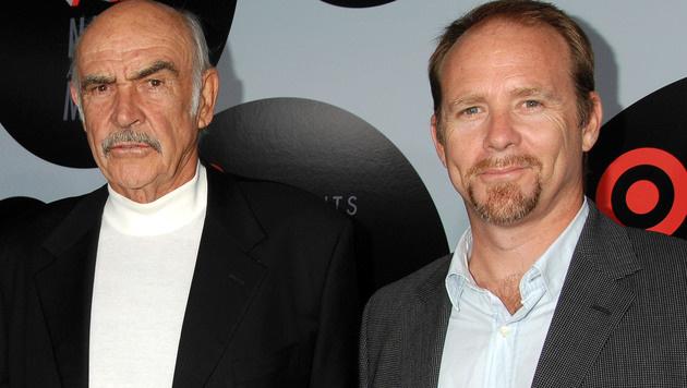 Sean Connery mit Jason Connery (Bild: Viennareport)