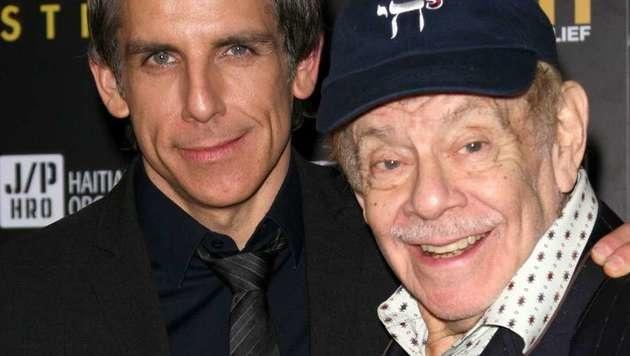 Hollywood-Scherzbold Ben Stiller mit Papa Jerry (Bild: Viennareport)
