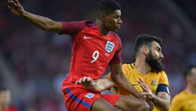 Marcus Rashford (links) (Bild: APA/AFP/PAUL ELLIS)