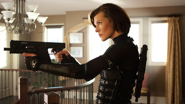 "Milla Jovovich in ""Resident Evil: Retribution"" (Bild: Viennareport)"