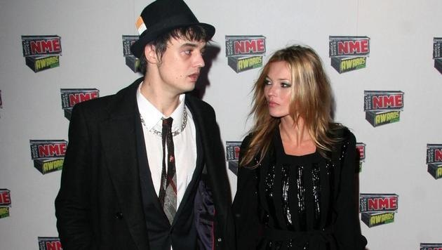 Kate Moss mit Pete Doherty (Bild: Vienneareport)