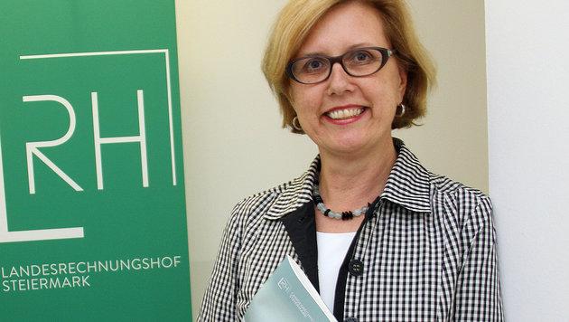 Die Kür von Margit Kraker zur Rechnungshofpräsidentin hat viel Staub aufgewirbelt. (Bild: Christian Jauschowetz bt)
