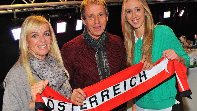Klaus Lindenberger ist zum zweiten Mal bei einer EURO dabei und glaubt natürlich an unser Team (Bild: Horst Einšöder)