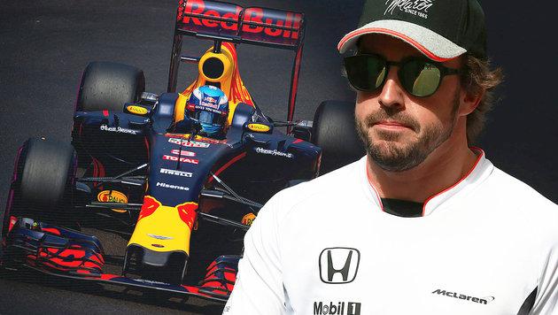 "Fernando Alonso: ""Habe Red-Bull-Cockpit abgelehnt"" (Bild: AFP/ANDREJ ISAKOVIC, GEPA)"