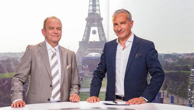 Fußball im ORF: Schöner Blick auf die EM (Bild: ORF)
