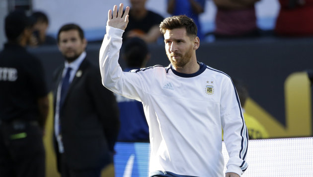 Superstar Messi bei Copa America vor Comeback (Bild: AP)