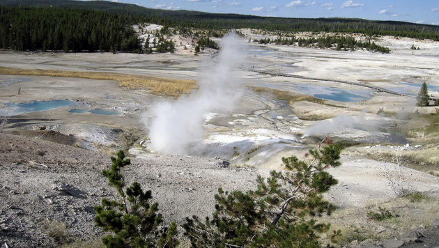 Der Yellowstone-Nationalpark in den USA (Bild: AP)