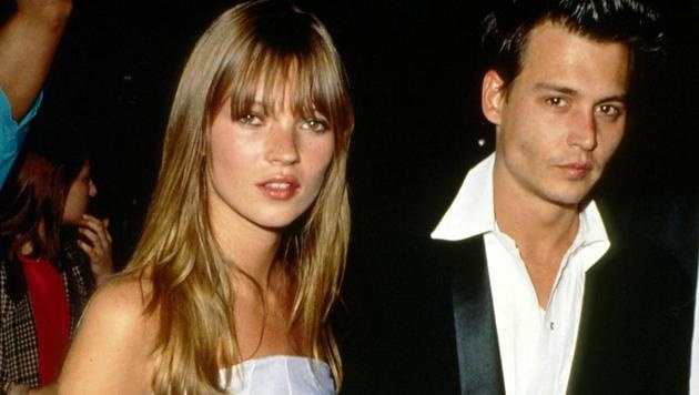 Kate Moss und Johnny Depp (Bild: Viennareport)