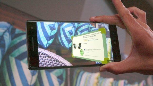 Lenovo baut erstes Handy, das sieht wie der Mensch (Bild: Dominik Erlinger)