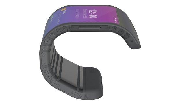 Falten und biegen: Ist dies das Handy der Zukunft? (Bild: Lenovo)