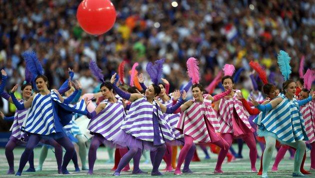 Feierliche Eröffnung bei der EURO in Paris! (Bild: AFP or Licensors)