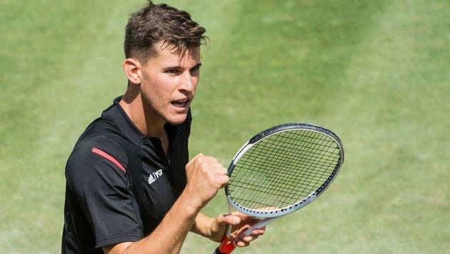 Thiem im Halbfinale! Jetzt wartet King Roger (Bild: AFP)