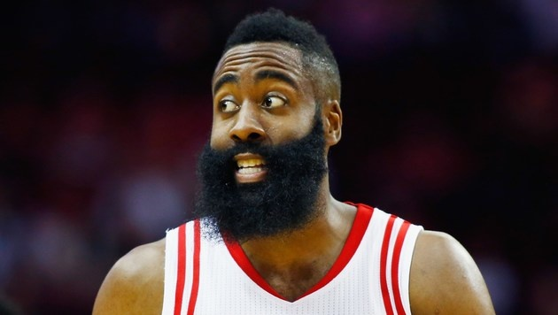 James Harden (Bild: APA/AFP/GETTY IMAGES/SCOTT HALLERAN)