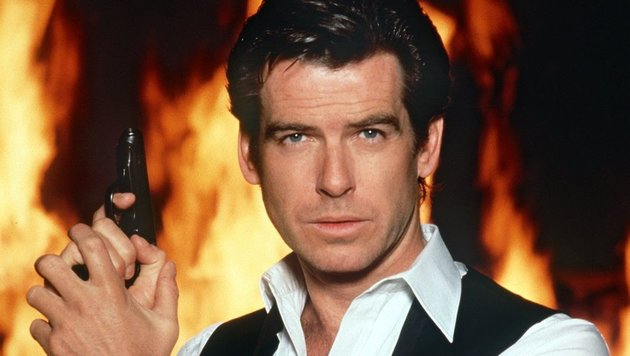 Pierce Brosnan 1997 als 007 (Bild: dpa/United Artists/United Artists)