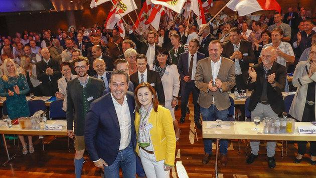 Marlene Svazek (24) ist jüngste Landesparteichefin (Bild: MARKUS TSCHEPP)