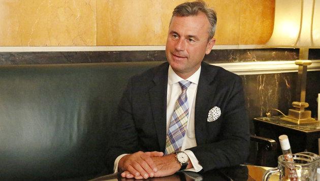 BP-Wahl: Hofer kündigt erneut Anzeigen an (Bild: Martin A. Jöchl)