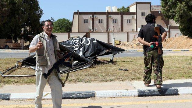Libysche Armee in IS-Hochburg Sirte auf Vormarsch (Bild: AFP or licensors)