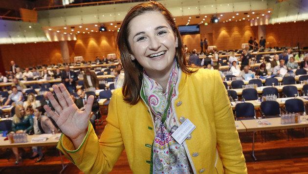 Marlene Svazek ist die jüngste weibliche FP-Landesparteichefin (Bild: MARKUS TSCHEPP)