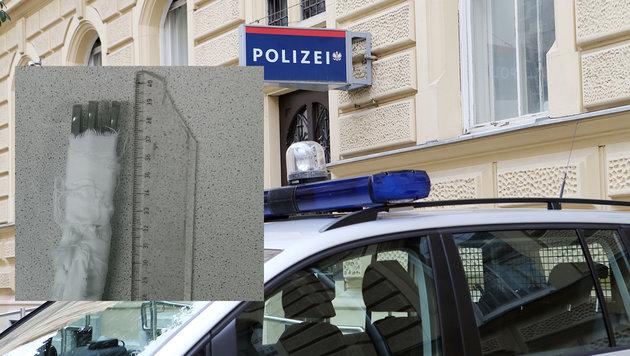 Schubhäftlinge lieferten sich Massenschlägerei (Bild: Jürgen Radspieler, Polizei)