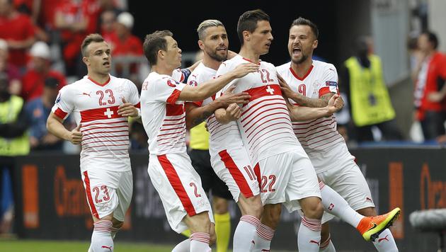 1:0 durch Fabian Schär (Bild: AP)