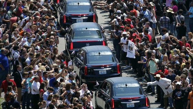 Tausende nahmen Abschied von Muhammad Ali (Bild: The Associated Press)
