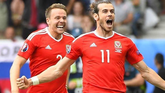 Wales feiert ersten Endrundensieg seit 1958! (Bild: AFP)