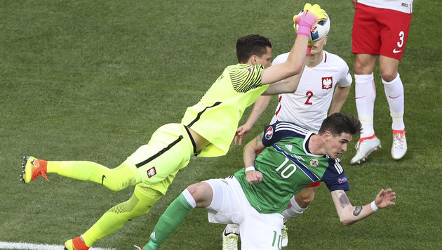 Milik schießt Polen zu ihrem allerersten EM-Sieg! (Bild: AP)