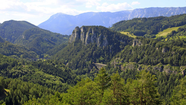 Die Raxalpe liegt an der Grenze zwischen Niederösterreich und der Steiermark. (Bild: Reinhard Holl)