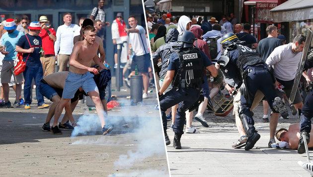 Pyro-Skandal: Kroatien droht harte Strafe der UEFA (Bild: AP Photo/Darko Bandic)