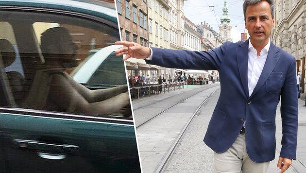 """Bürgermeister Siegfried Nagl appelliert an die Justiz, Alen R. lebenslang in Gewahrsam zu halten. (Bild: """"Krone"""", Sepp Pail)"""